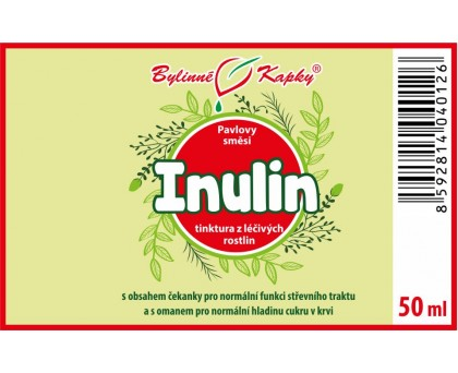 Inulin tinktura 50 ml