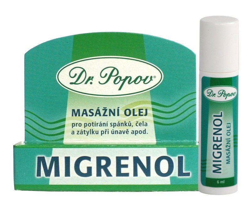 Migrenol, 6 ml – roll-on Dr.Popov