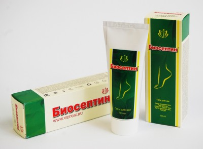Bioseptin - Gel na nohy 60ml